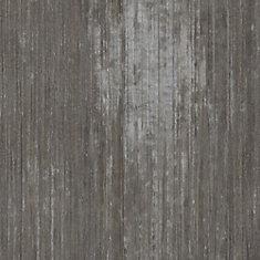 Plancher de tuiles de vinyle de luxe de 12 po x 23,82 po (19,8 pi2 / caisse) en pierre olympique verrouillable en argent