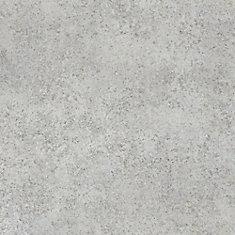 Verrouillage carreaux de vinyle de luxe, 12 po x 23,82 po (19,8 pi2 / caisse), blanc perle de roche