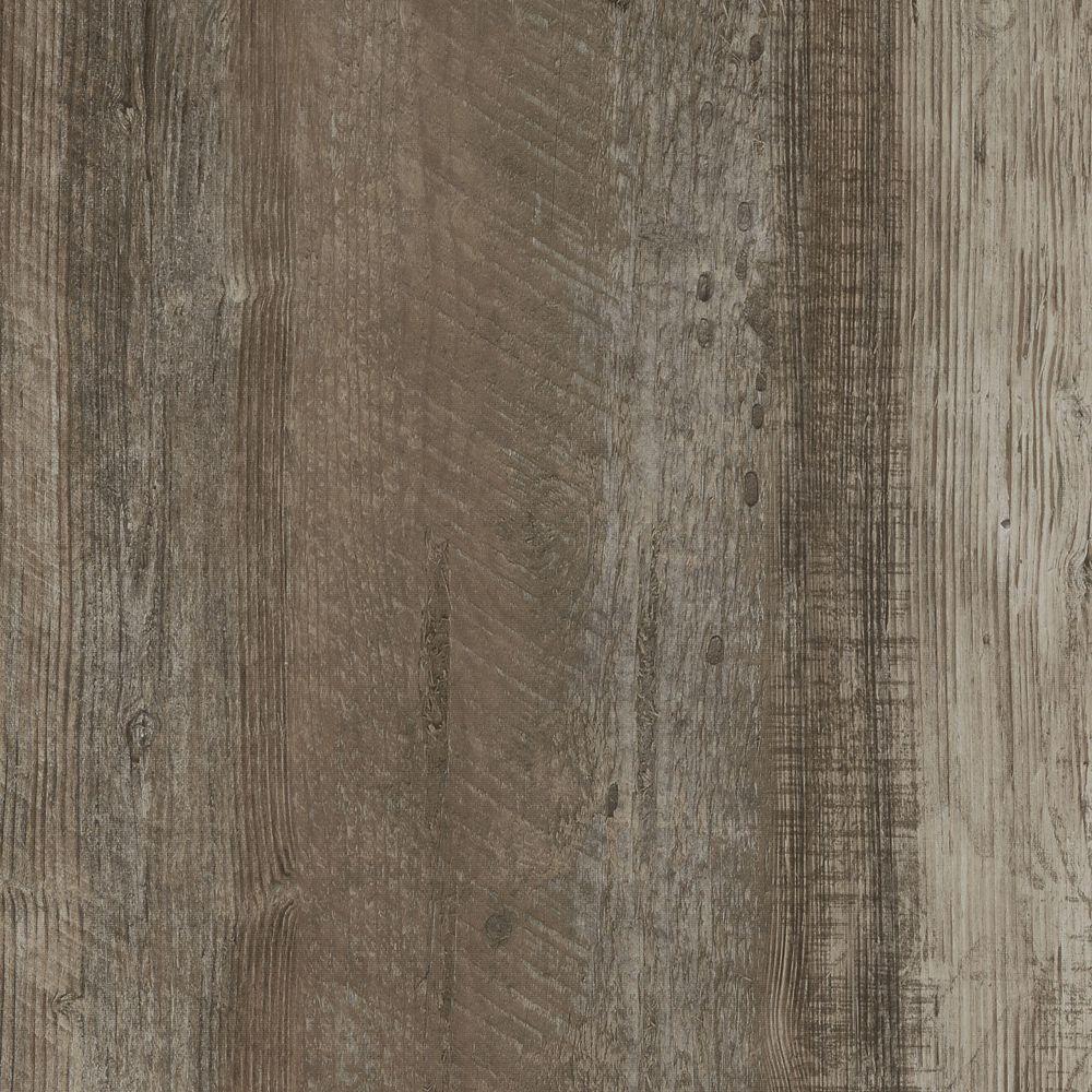 Planche large de vinyle beige rustique facile 8,7 po (22 cm) x 47,6 po (1,2 m) (20,06 pc/boîte)
