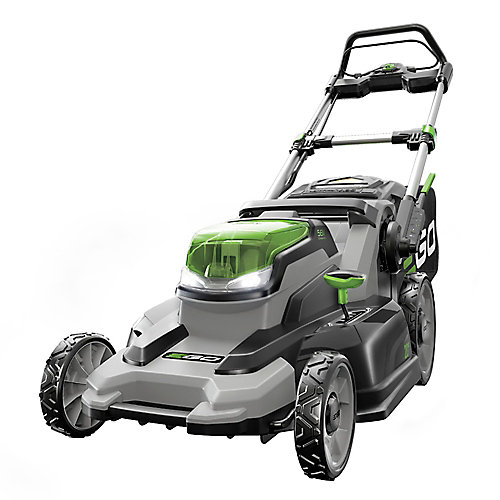 20-inch 56V Lithium ion Cordless Push Mower with 5.0Ah Battery and Charger Included
