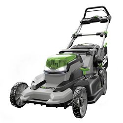 EGO 20-inch 56V Lithium ion Cordless Push Mower with 5.0Ah Battery and Charger Included