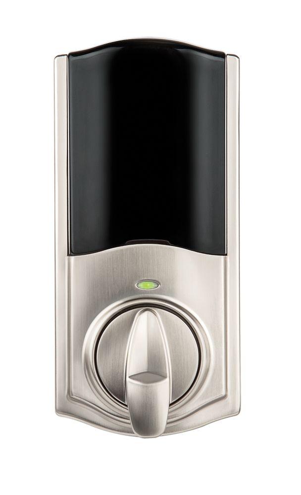 Weiser Kevo Satin Nickel Keyless Entry Deadbolt Conversion Kit