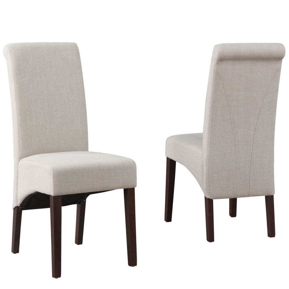 Avalon Deluxe Parson Dining Chair (Set of 2)