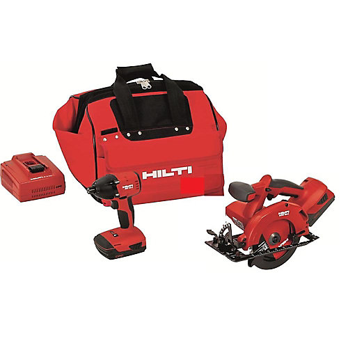 18-Volt Lithium-Ion Cordless Impact Driver/Circular Saw Combo Kit (2-Tool)