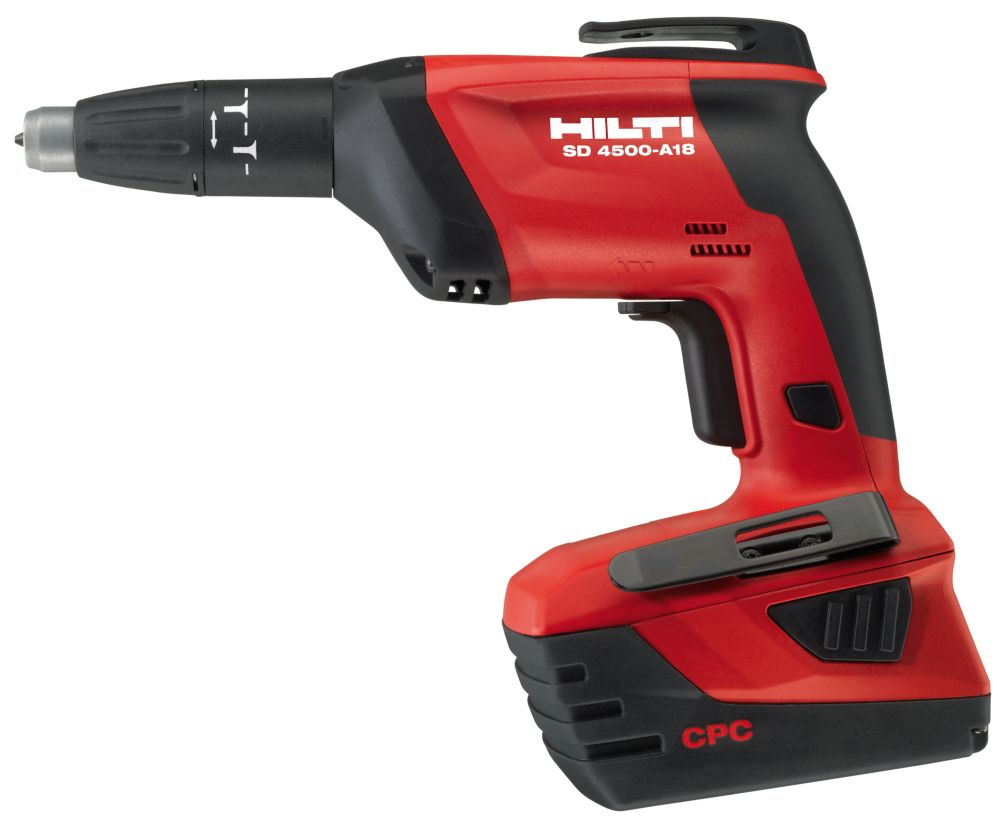SD 4500 18-Volt Lithium-Ion 1/4 Inch Hex Cordless High Speed Drywall Screwdriver