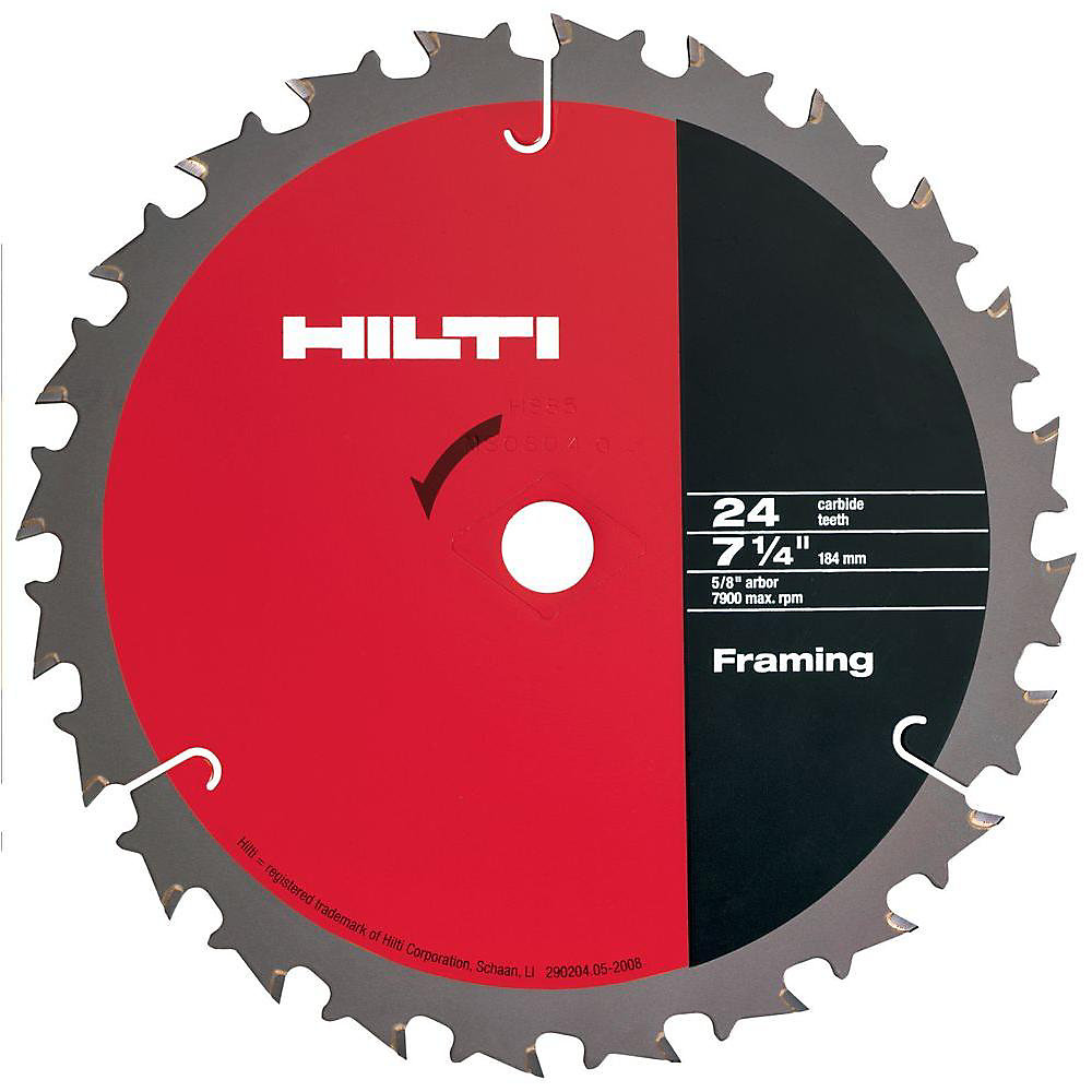 W-CSC 7-1/4 Inch x 24 Tooth Circular Saw Framing Blades Contractor's (50-Pack)