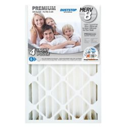 Duststop 16x25x4 MERV 8 Air Filter