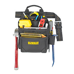 DEWALT 9 Pocket Deluxe Nail & Tool Bag
