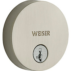 Weiser Low Profile Single Cylinder Square Deadbolt In