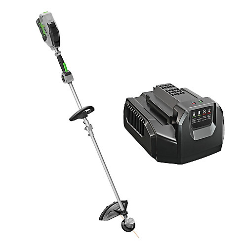 15-inch 56V Lithium-Ion Electric Cordless String Trimmer w/Rapid Reload Head - 2.5Ah Battery and Charger Included