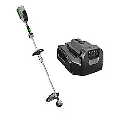 15-inch 56V Lithium-Ion Electric Cordless String Trimmer w/Rapid Reload Head with Battery and Charger