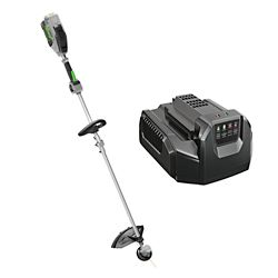 EGO 15-inch 56V Lithium-Ion Electric Cordless String Trimmer w/Rapid Reload Head - 2.5Ah Battery and Charger Included