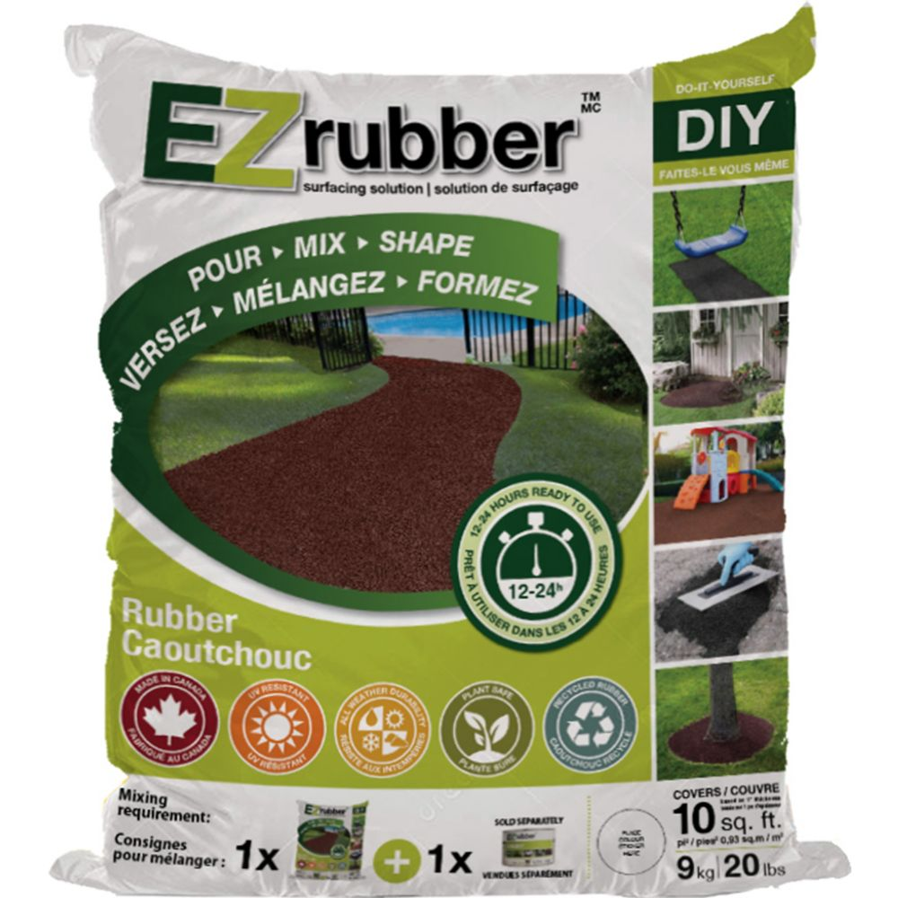 Multy Home EZ Rubber Surfacing Solution Terracotta