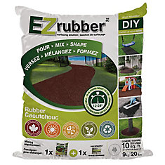 EZ Rubber Surfacing Solution Charcoal