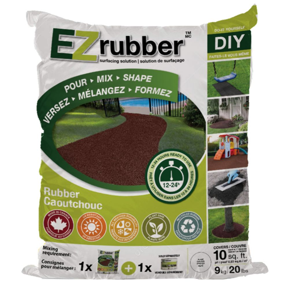 Multy Home EZ Rubber Surfacing Solution Charcoal