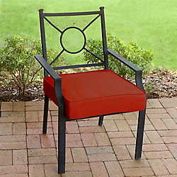 Suntastic Deluxe Patio Seat Cushion in Sunvalley Red