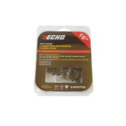 ECHO Chaine de rechange 16 po pour scies à chaine ECHO CS370 et CS400