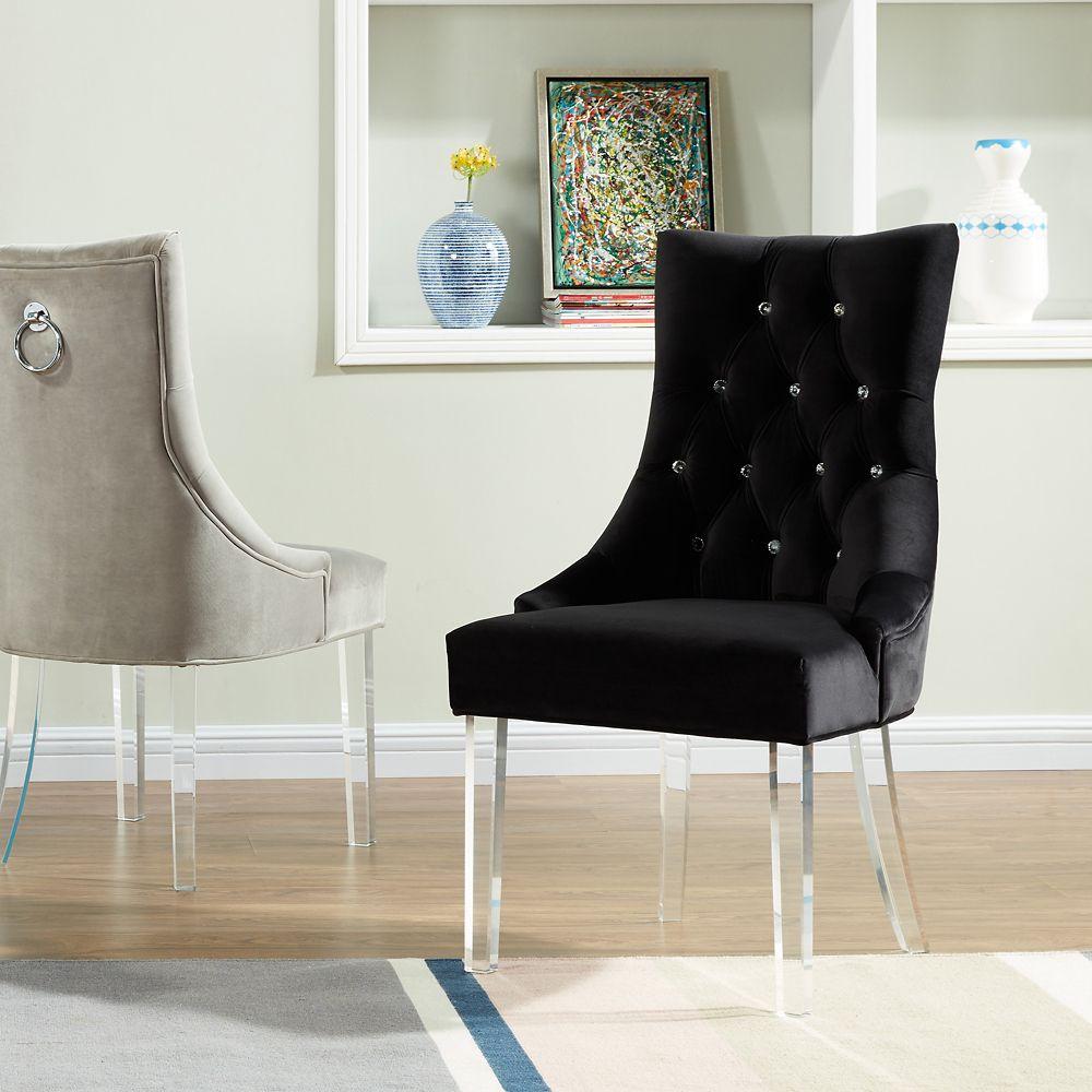 Cavalli-Accent Chair-Black