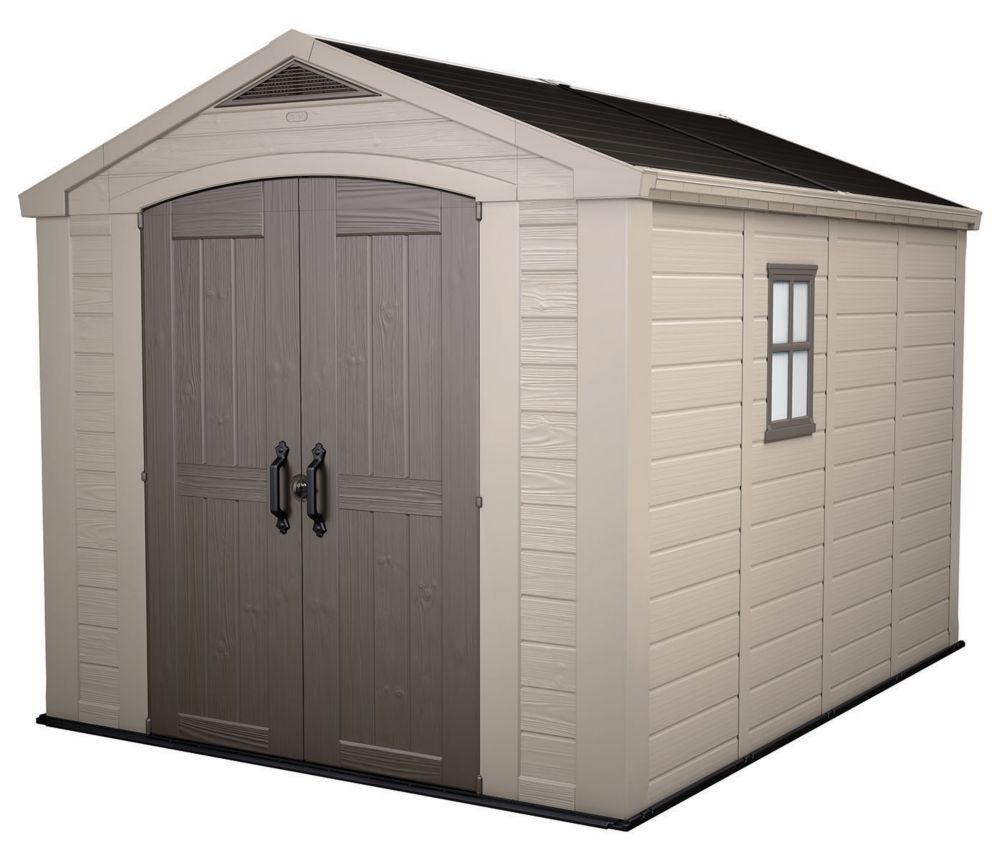 Keter Factor 8 ft. x 11 ft. Storage Shed 17197956