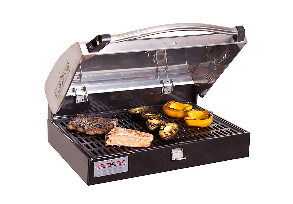 16-inch x 24-inch Deluxe Stainless Steel BBQ Grill Box Accessory