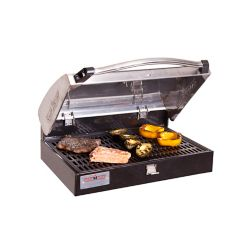 Camp Chef 16-inch x 24-inch Deluxe Stainless Steel BBQ Grill Box Accessory