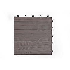 Elite Deck Tile 12  Inch x 12 Inch - Panama Grey