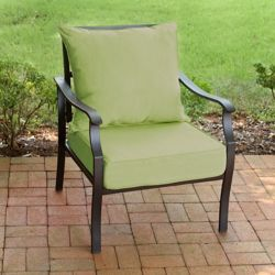 Suntastic 2-Piece Patio Deep Seating Set in Sunottoman Spring Green