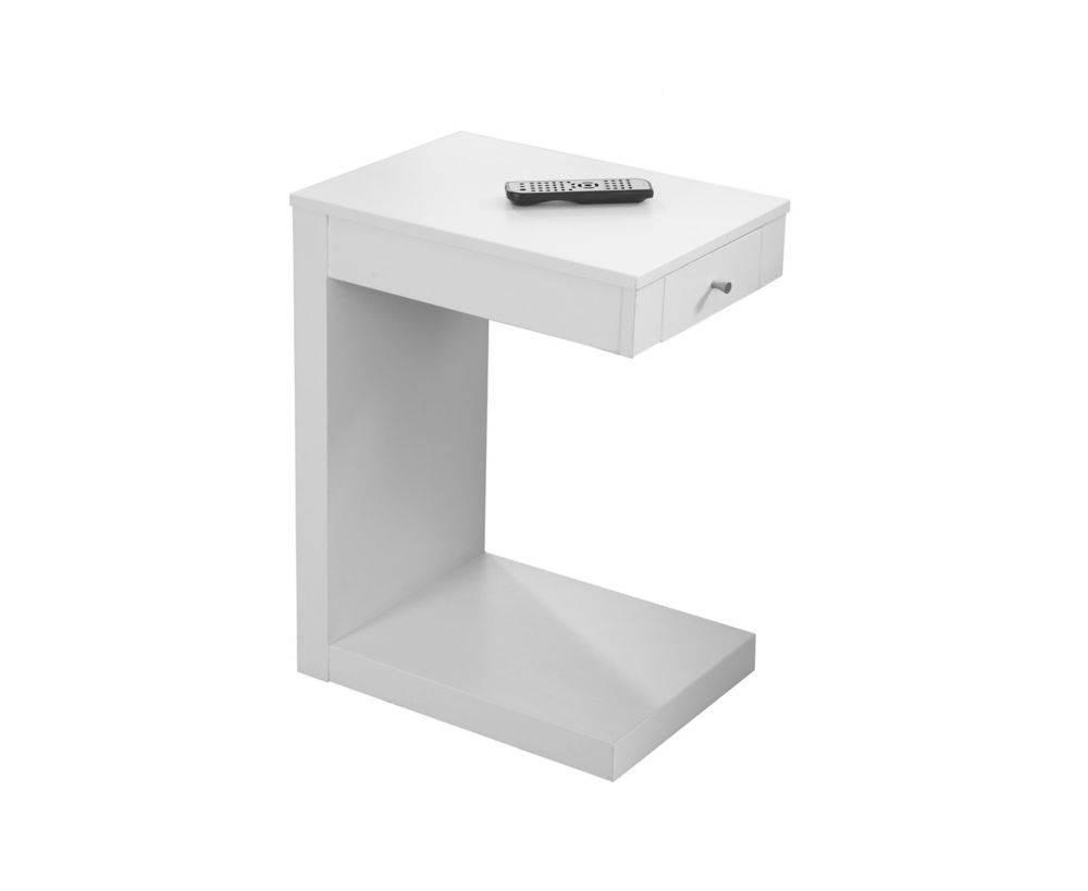 Monarch Specialties Accent Table - White With A Drawer