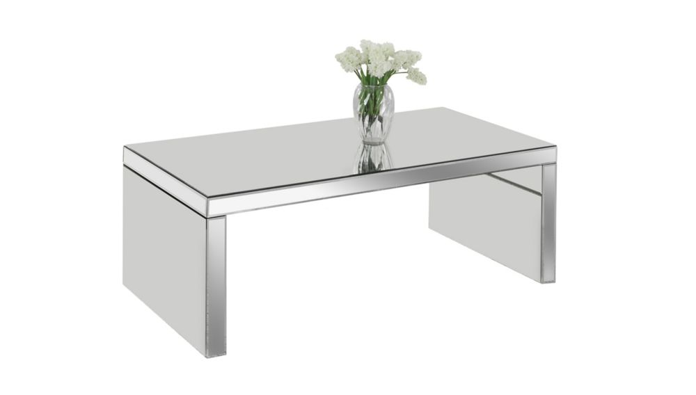 Coffee Table - 48 Inch X 24 Inch  / Mirror