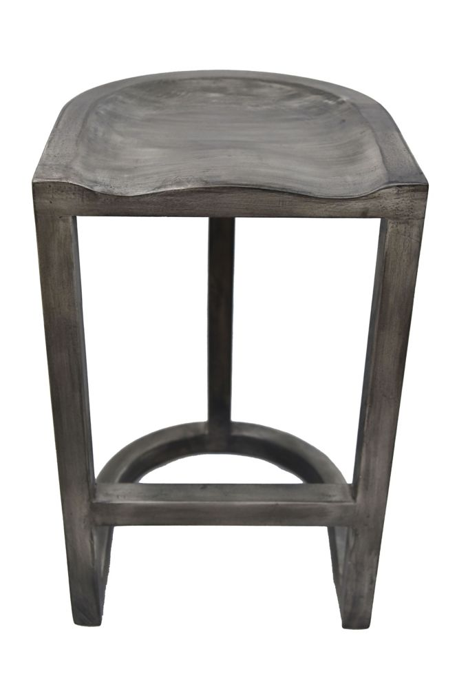Laredo-30 Inch  Bar Stool-Grey