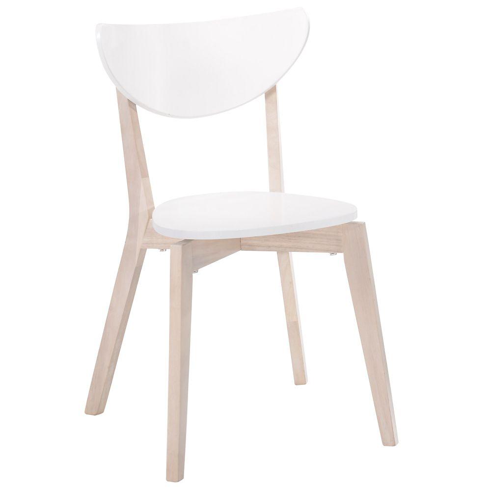 Kokia-Side Chair-White-Set of 2