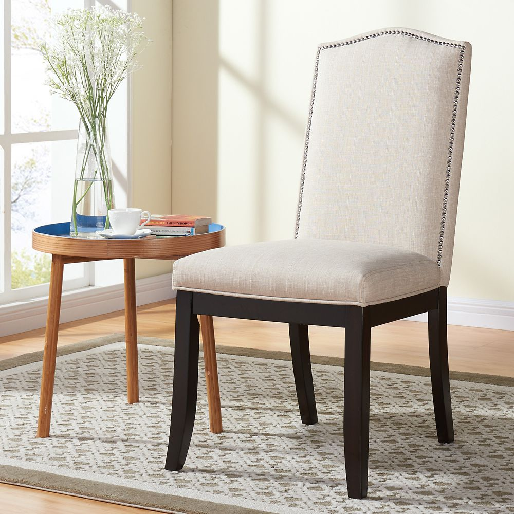 Jazz-Side Chair-Beige-Set of 2