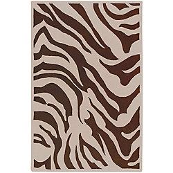 Home Decorators Collection Kisama Chocolate 2 Feet x 3 Feet Indoor Area Rug