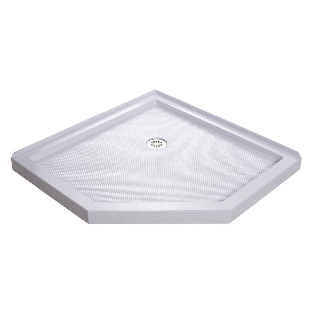 DreamLine SlimLine 40-inch x 40-inch Neo Shower Floor in White