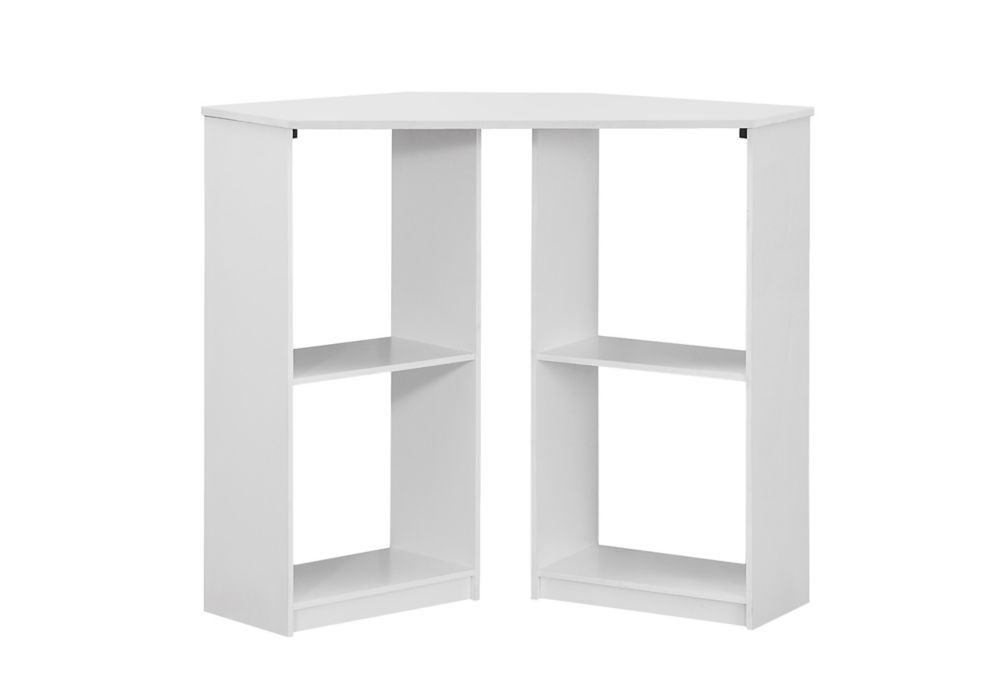 Computer Desk - 36 Inch L / Juvenile / White Corner