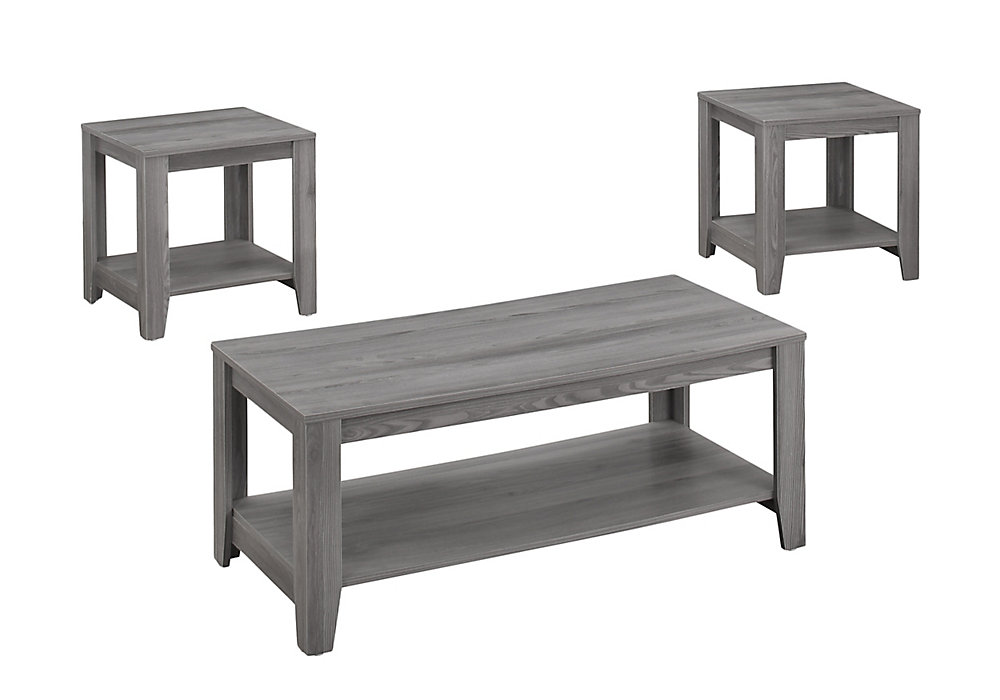 Table Set - 3-Piece Set / Grey