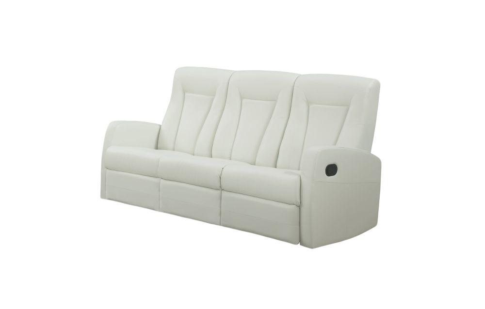 Sofa - Cuir Reconstitue Ivoire