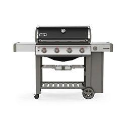 Weber Barbecue au propane Genesis II E-410 à 3 brûleurs GS4 à haute performance, noir