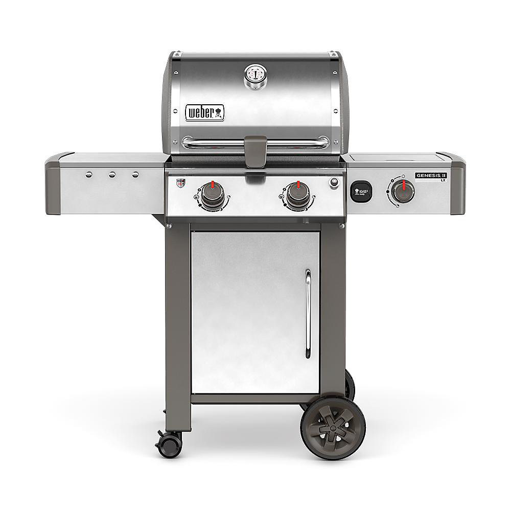 Genesis II LX S-240 Gas BBQ in Stainless Steel