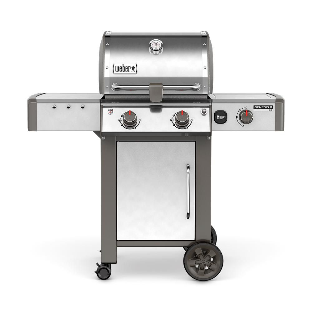 Weber Genesis II LX S-240 Gas BBQ in Stainless Steel