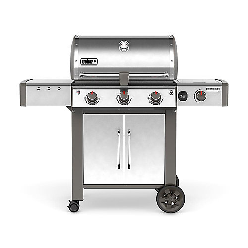 Genesis II LX S-340 3-Burner Natural Gas BBQ in Stainless Steel