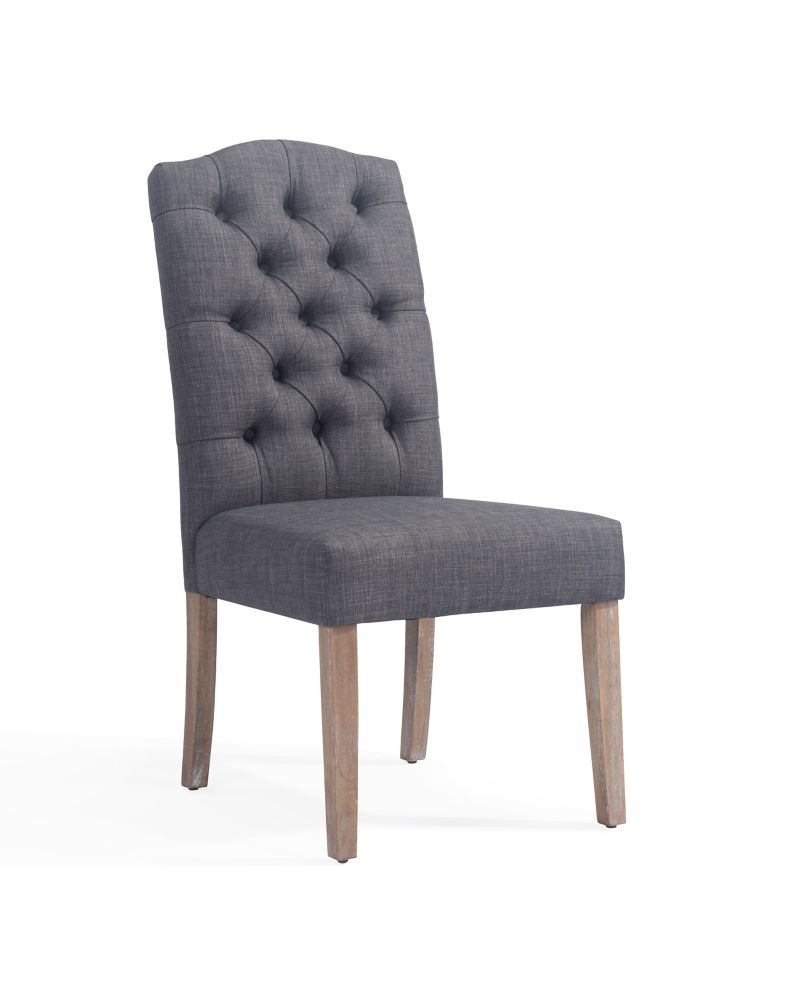 Lucian-Side Chair-Grey-Set Of 2
