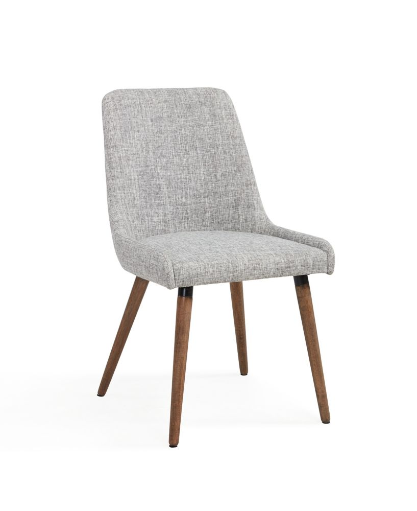 Mia-Side Chair-Grey/Light Grey-Set Of 2