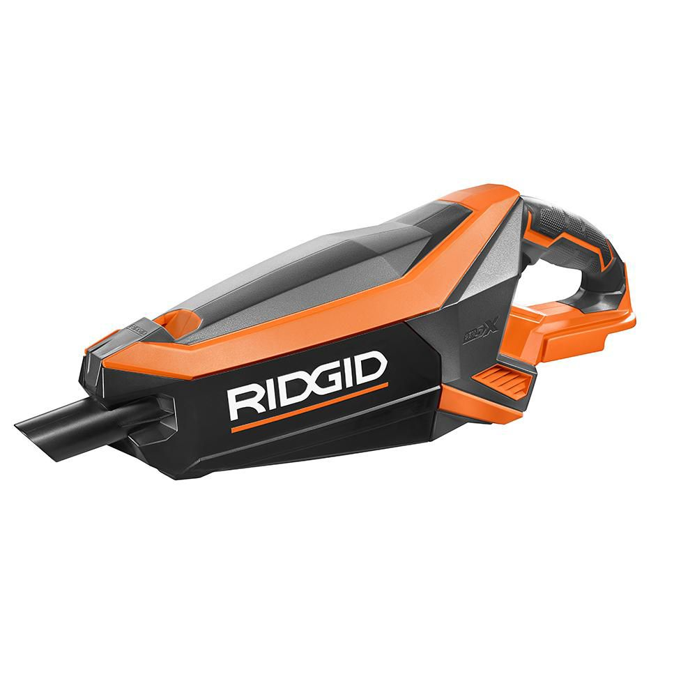 RIDGID 18V GEN5X Cordless Brushless Vacuum (Tool-Only) with (2) Nozzles and 2-Foot Extension Tube