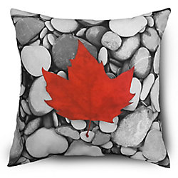 Hampton Bay 17-inch Canadian Maple Leaf Pillow