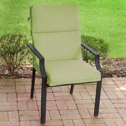 Suntastic Highback Patio Cushion in Sunottoman Spring Green