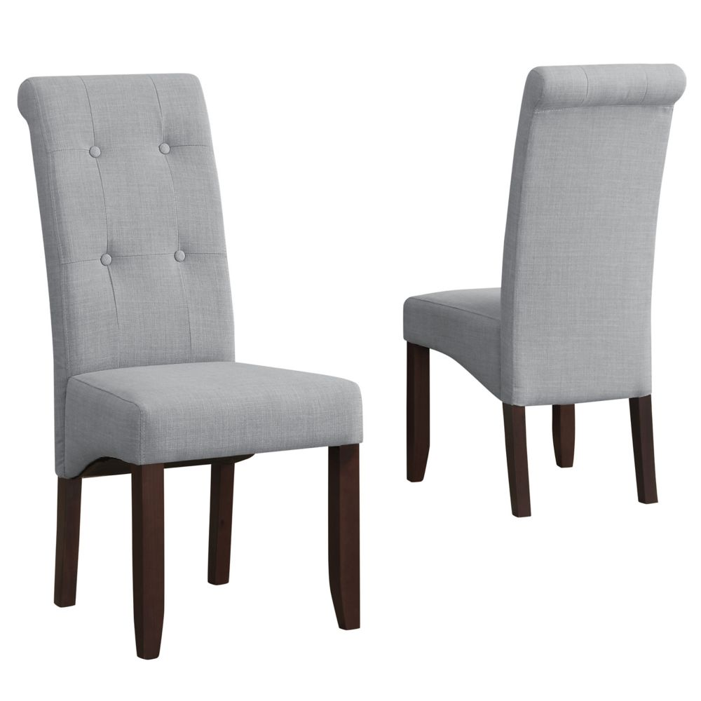 Cosmopolitan Deluxe Tufted Parson Chair (Set of 2)