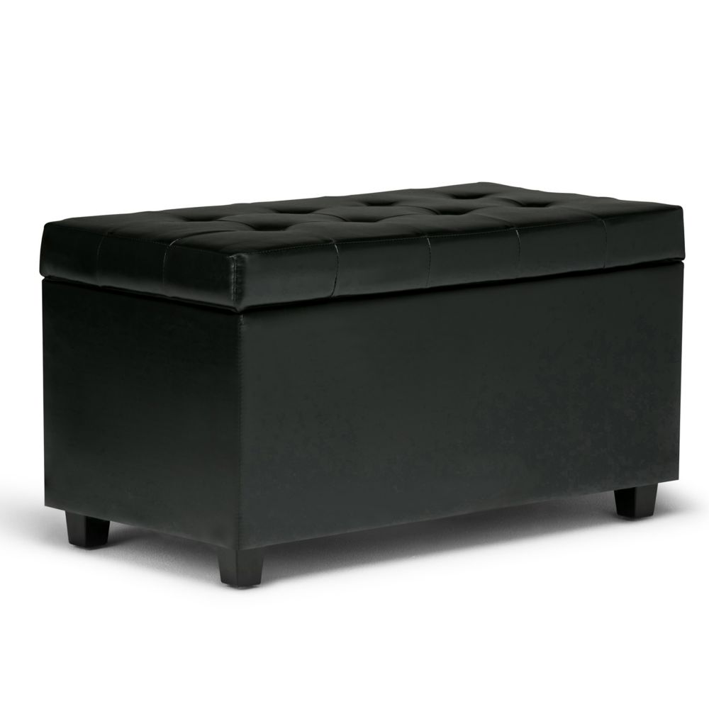 Cosmopolitan Medium Rectangular Storage Ottoman Bench