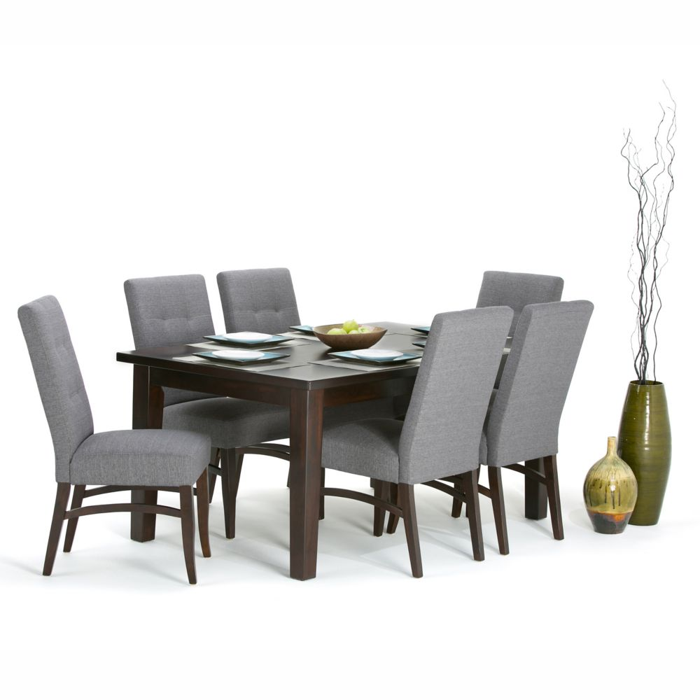 Simpli Home Eastwood 54 Inch Square Dining Table The Home Depot Canada