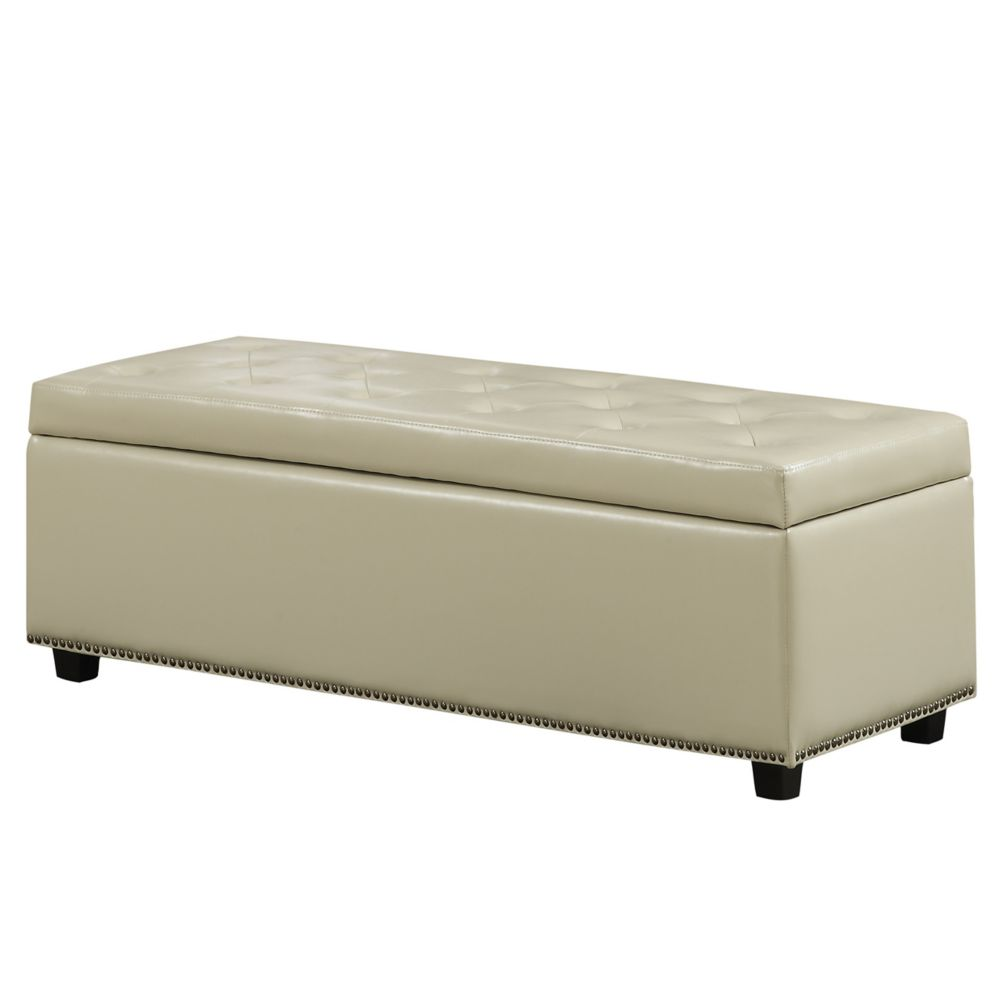 Hamilton Large Rectangular Storage Ottoman Bench